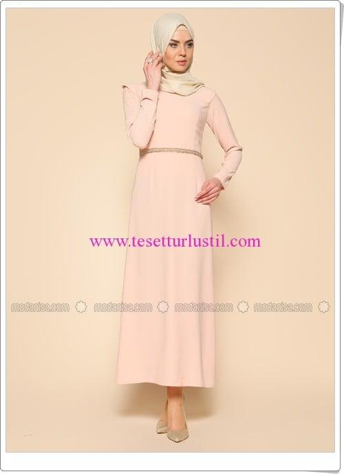 boncuk-islemeli-elbise-pudra-puane-170 TL