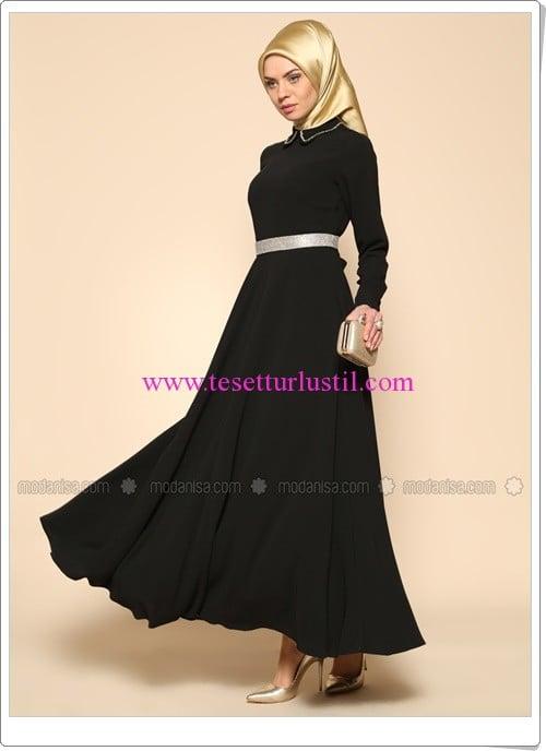 kemerli-elbise-siyah-puane-230 TL