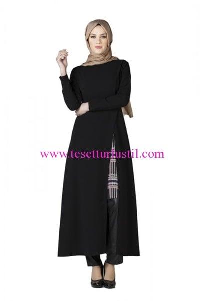 Tekbir-model-elbise-siyah-150 TL