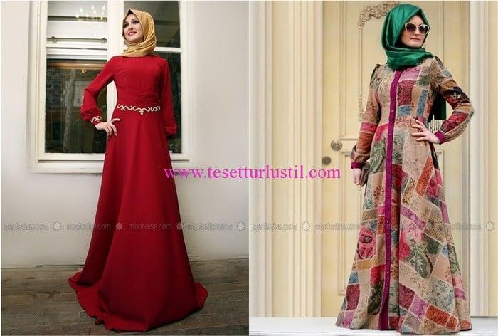 Ulviye Portakal 2016 elbise modelleri