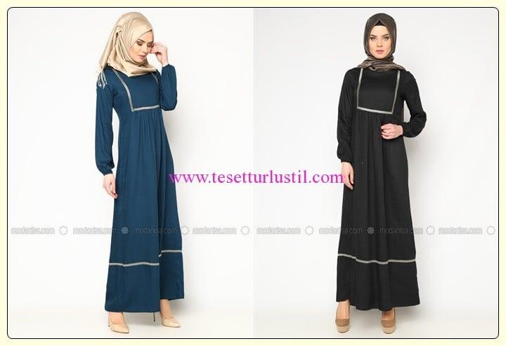 CML Collection tesettür boydan elbise modelleri