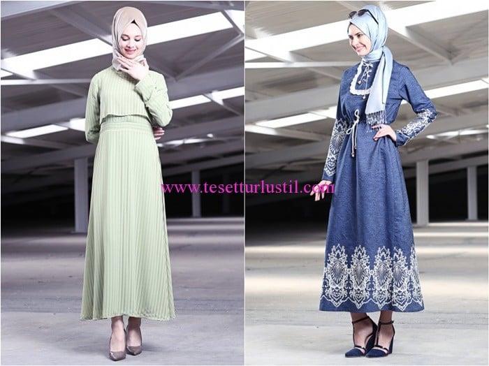 Tekbir Giyim 2016 elbise modelleri