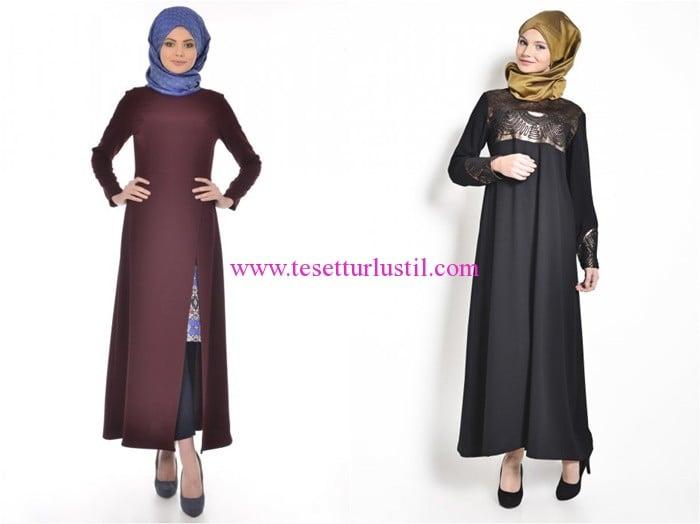 Tekbir Giyim en yeni tesettür elbise modelleri