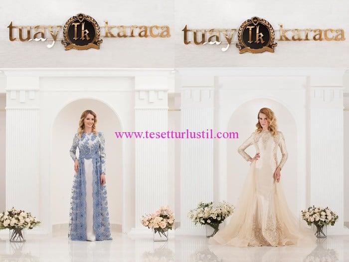 Tuay Karaca en yeni abiye modelleri