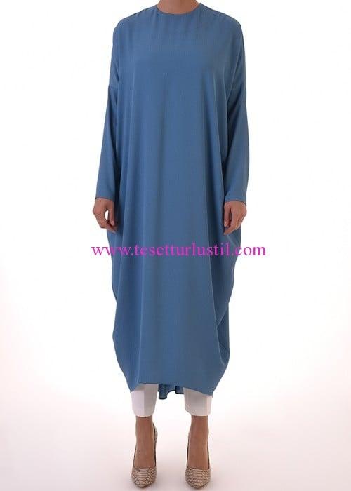 Armağan Giyim mavi tunik