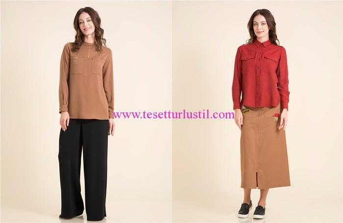 Kayra 2017 cepli bluz-gömlek modelleri