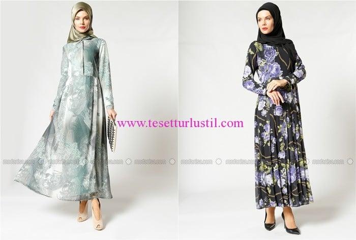 Refka 2017 tesettür elbise modelleri