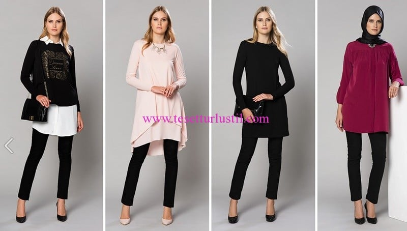 LCW yeni sezon kapalı giyim modelleri