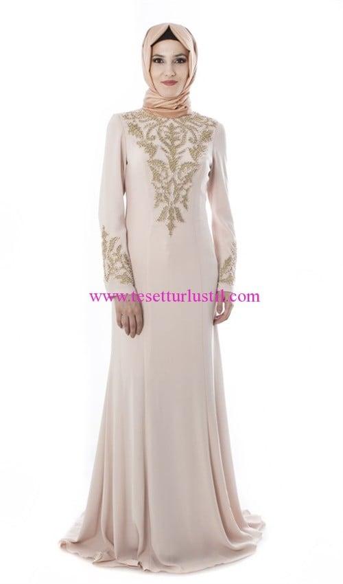 setrms pudra abiye elbise