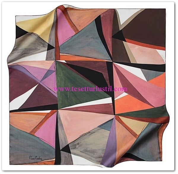 pierre-cardin-geometrik-desenli-esarp