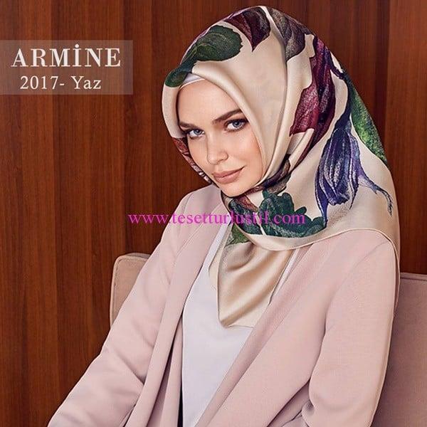 Armine 2017 yaz eşarp modelleri