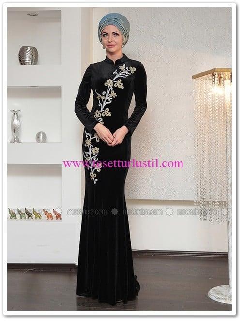 ahu-kadife-balik-abiye-elbise-siyah-dilek-koroglu