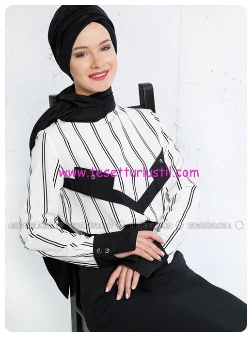 cizgili-bluz-siyah-beyaz-refka