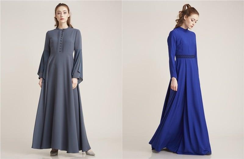 kayra 2017 yeni sezon tesettür elbise modelleri