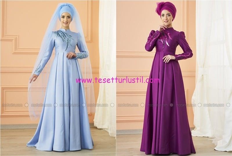 mevra kavin abiye elbise-490 TL