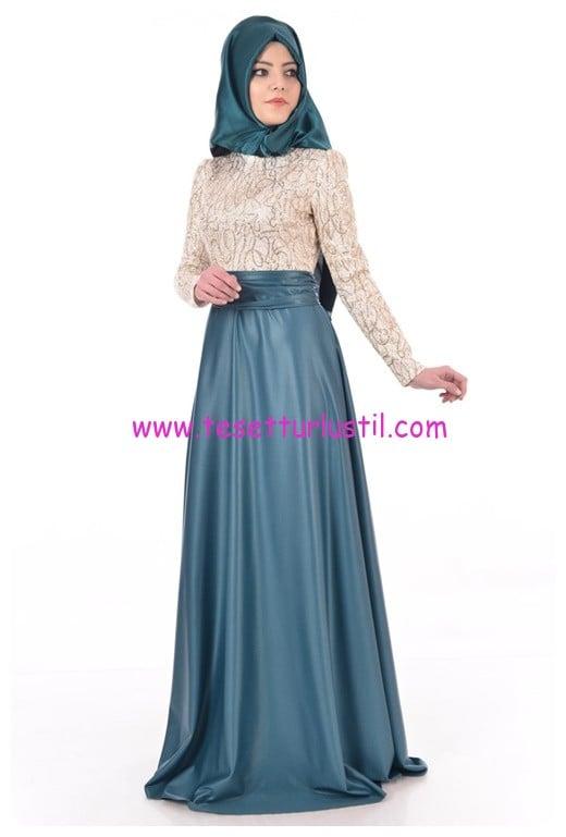 ayse-melek-gold-laseli-abiye-elbise-zumrut
