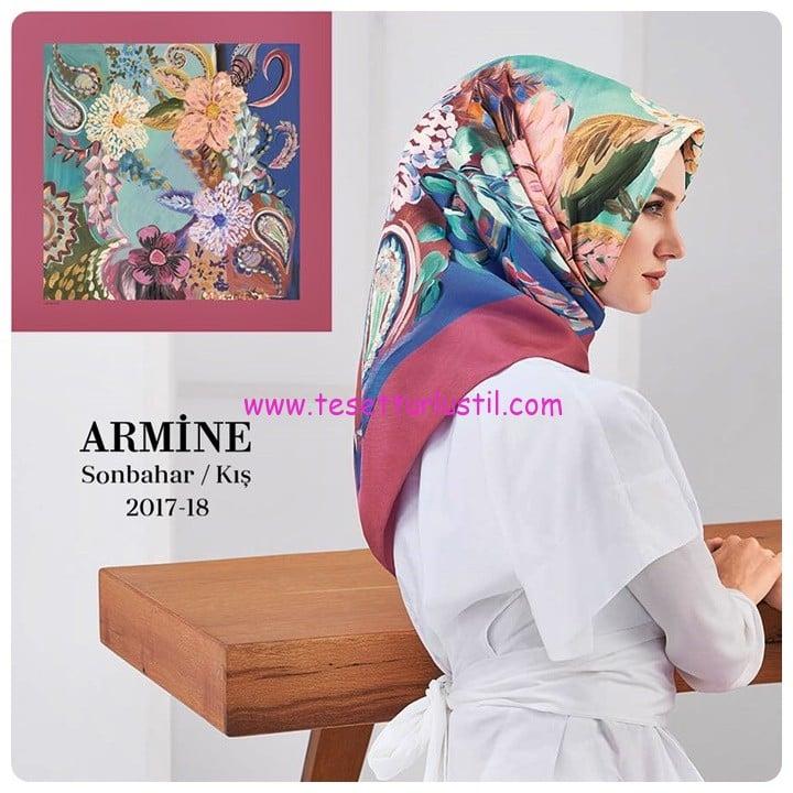 Armine 2017 yeni sezon eşarp koleksiyonu