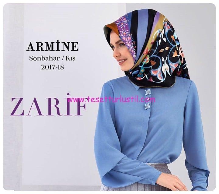 Armine 2018 sonbahar-kış eşarp modelleri