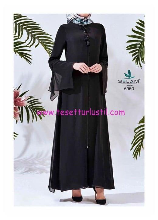 selam giyim avva siyah elbise