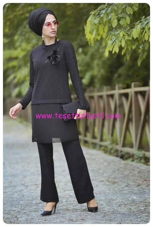 tofisa-tunik-pantolon-sal-canta-kombin-siyah-siyah-100 TL