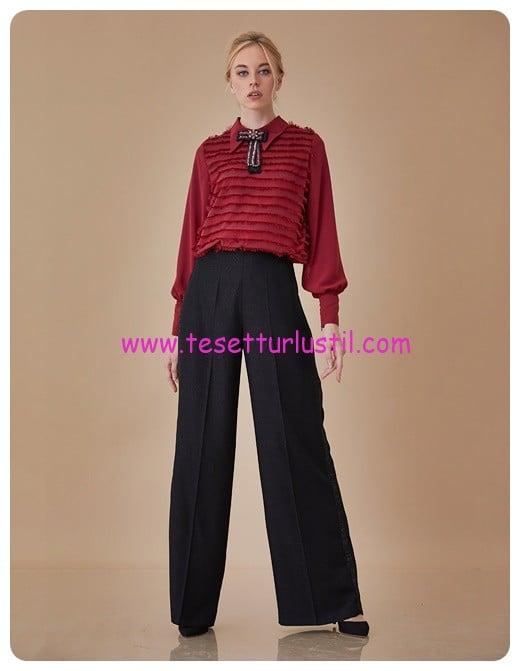 seritli-bol-paca-pantolon-siyah